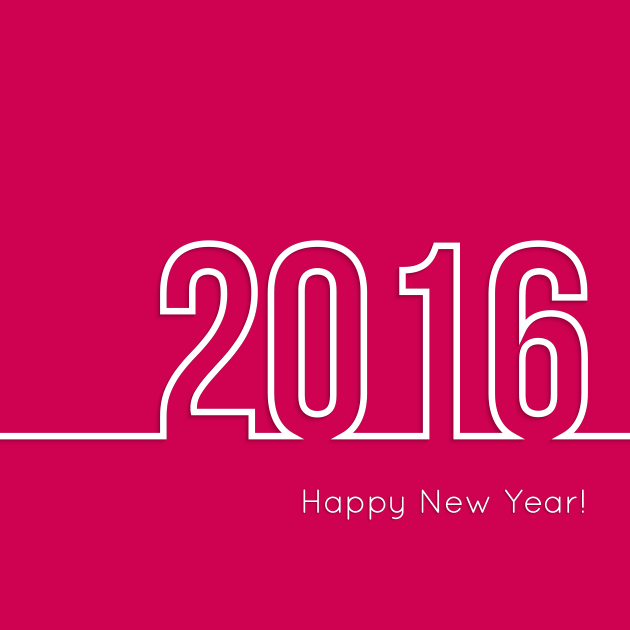 Happy New Year – 2016